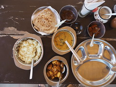 Indian Food Chapati Rice Daal Restaurant Udaipur Rajasthan India (oksana8happy) Tags: copyright food india restaurant essen asia asien heiconeumeyer dish rice indian north dal reis potato indien rajasthan udaipur indianfood gastronomie kartoffel daal southasia copyrighted 2014 in chapati nahrung northindia gericht mahlzeit indisch chapatti nordindien südasien krishnaranch tp201415