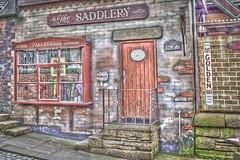 Saddlery - Guys Thatched Hamlet (Julie Green, Liverpool) Tags: shop vintage guys preston hamlet tack thatched garstang saddlery