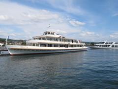 MS HELVETIA & MS UETLIBERG (Priska B.) Tags: boot see wasser ms helvetia uetliberg schiff schiffe zürichsee