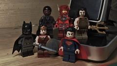 Justice League (LordAllo) Tags: woman wonder dawn justice dc lego flash superman v batman cyborg league aquaman