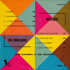 Alan Blackwell et son Orchestre (Janko Nilovic) - Musique en couleurs (oopswhoops) Tags: album library vinyl easy neuilly 10inch librarymusic nilovic