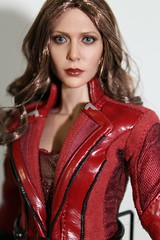 Hot Toy's Scarlet Witch (kengofett) Tags: female scarlet witch figure 16 exclusive avengers hottoys
