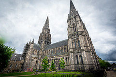St. Mary's Cathedral (Viv Lynch) Tags: city travel vacation urban holiday building history church architecture walking landscape design scotland edinburgh europe cathedral eu eurotrip stmarys