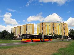 Solaris Urbino 18 III, #5448, MZA Warszawa (transport131) Tags: bus autobus ztm warszawa solaris urbino mza warsaw