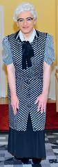 Ingrid022529 (ingrid_bach61) Tags: mature kittel pleatedskirt nylonoverall faltenrock bowblouse schleifenbluse