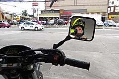 manila petrol station (DOLCEVITALUX) Tags: petrolstation manilapetrolstation manila philippines motorcycle motorbike canonpowershotsx50hs selfie
