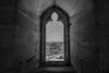 Ventana Castillo Ujué (Garimba Rekords) Tags: blanco arquitectura y negro pueblo iglesia bn castillo navarra ujué