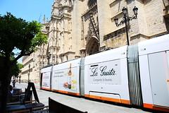 Seville (HDH.Lucas) Tags: street spain tram seville lucas espana andalusia