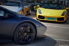Lamborghini LP640 (arjendebok) Tags: lamborghini v12 lp 640 lp640 matt black fast loud super cars bull combo supercars nikon d5100 loosdrecht holland netherlands meeting rrjendebok arjen de bok