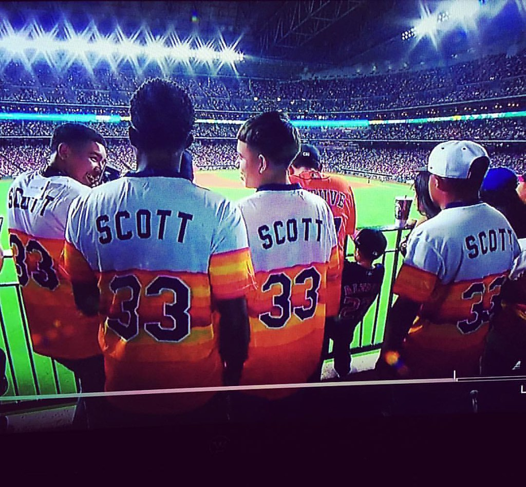 "6 Year Old Berkley, ""That's a lot of Mike Scotts Dad"" @juliamoralesclark #astros"