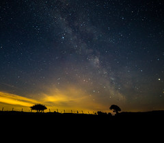Milkyway over Sarnau (volt photo) Tags: west wales 7d astrophotography milky way milkyway space wide landscape cosmic