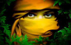 My Eyes Speak For Me (flippermood) Tags: conceptual conceptualphotography conceptcollaboration connecticut concept creative canon people portrait male personal flippermood flickr flickrfriday fineart fineartphotography nature green gold yellow original forest