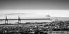 Sea of clouds (Laurent VALENCIA) Tags: port canon marseille noiretblanc nb provence nuage bateau brouillard navigation brume ferrie magie seaofclouds portautonome 50mpx entréesmaritimes 5dsr