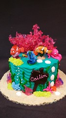 Finding Nemo Cake (dragosisters) Tags: sea fish cake disney ocean findingdory findingnemo