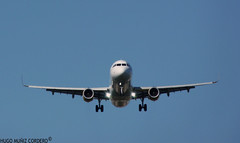 FRONT VIEW A320 (hugomuizcordero) Tags: photo amazing front planes spotting vueling iloveplanes