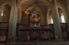 Organ Pipes (MrBlackSun) Tags: abbey abbaye abbatiale saintrobert chaisedieu clement clementvi france auvergne hauteloire nikon d810 nikond810