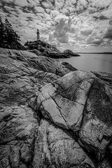 Lighthouse Point 3 (1 of 1) (DavidGuscottPhotography) Tags: longexposure lighthouse rock clouds point le