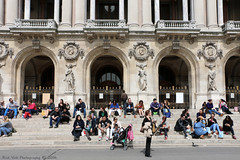 People @ Opra Garnier (Rick & Bart) Tags: paris france city urban rickvink rickbart canon eos70d palaisgarnier operagarnier historic everydaypeople strangers candid streetphotography people