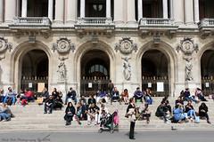 People @ Opra Garnier (Rick & Bart) Tags: paris france city urban rickvink rickbart canon eos70d palaisgarnier operagarnier historic everydaypeople strangers candid streetphotography people