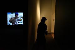 New York City 2016 (Rebortira) Tags: streetphotography refugee nikon d750 video shadow newyorkcity metropolitanmuseum 24mm barechest torso baseballcap nikkor24f28 nikkor24mmf28