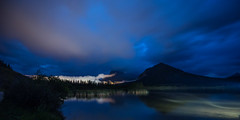 Midnight at Vermilion Lakes (howardpa58) Tags: 5dmkiii canon vermilionlakes banff banffnationalpark clouds midnight mountrundle mountains night nightsky nightphotography paulhowardphoto paulhowardphotocom paulhowardphotography vermilion