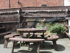 The Mariners, 69 Howard Street South, Great Yarmouth (LookaroundAnne) Tags: gwuk pub tavern publichouse garden pubgarden table seat bench greatyarmouth yarmouth norfolk