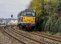 31190 (Teignstu) Tags: teignmouth devon railway lightengine class31 31190 dcr