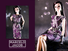 JANAINA 2016 1 (marcelojacob) Tags: marcelo jacob autumn 2016 janaina dres 2 elise jolie starlet cinematic barbie style doll apparel dress lace poppy parker manuel j rodriguez ldolls reroot