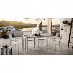 genob-tavolo-fisso-due-misure-in-gres-porcellanico-piombo-o-vulcano (design italiano) Tags: tavoli casa arredamento arredare sala soggiorno cucina