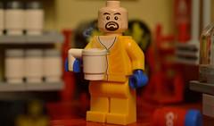 Breaktime (matthismcfly) Tags: lego breaking bad citizen brick walter white minifig yo bitch coffee why tough albuquerque