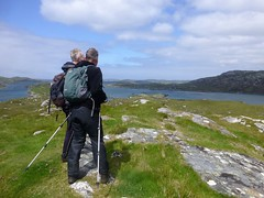 Ken And Rob On Airigh Ard (Dugswell2) Tags: isleoflewis tump kenwhyte airigh ard p38