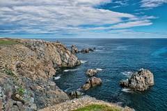 bonavista dungeons (-liyen-) Tags: newfoundland rocks bonavista dungeons beautyshore coastline atlantic atlanticocean rocky primal