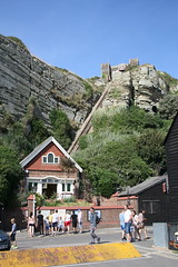 Cliff Railway (My photos live here) Tags: cliff railway east hill building station terminus funicular old town hastings sussex england seaside holiday resort canon eos 1000d