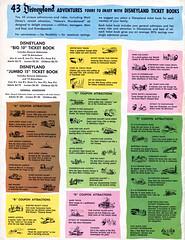Vacationland, Summer 1960 23 (Tom Simpson) Tags: vacationland vintage 1960 1960s disney vintagedisney disneyland ticket disneylandticket