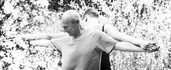 synergy..... yogi partner practice, Burnaby, BC (gks18) Tags: people yoga canon partner burnaby