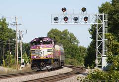 2405 @ Shirley (imartin92) Tags: shirley massachusetts mbta massachusettsbaytransportationauthority commuter rail fitchburg line passenger train emd gp40mc locomotive