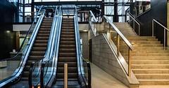 """Die Treppe. Die Treppen. Genauer: Die Rolltreppe. Die Rolltreppen. Auf der linken Seite sind zwei Rolltreppen. • <a style=""""font-size:0.8em;"""" href=""""http://www.flickr.com/photos/42554185@N00/29469678173/"""" target=""""_blank"""">View on Flickr</a>"""