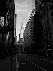 Looking back to Chrysler Building (stephenquin58) Tags: chryslerbuilding manhattannyc huaweip9