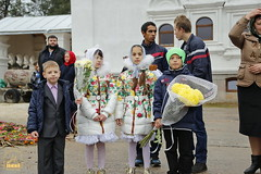 1. Church service in Svyatogorsk / Богослужение в храме г.Святогорска 09.10.2016