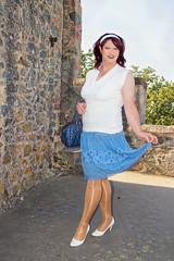 BF2b (Tinaturtle27) Tags: crossdresser transvestite pantyhose burgfrankenstein