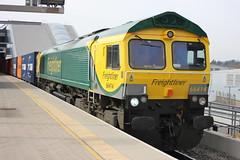 66414 Reading 4L32 (dan warman1) Tags: reading freightliner class66 66414 powerhaul 4l32 bristoltilbury