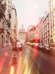 urban lights (mariasforzesca) Tags: city urban paris corner lights daylight boulevard colours bubbles effect translucid