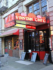 Fantan Cafe (knightbefore_99) Tags: street red canada colour island gold restaurant chinatown bc tea britishcolumbia chinese columbia victoria noodles british victoriabc fisgard institution fantan