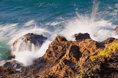MENDOCINO SPLASH (guyprentice) Tags: creek coast rocks surf waves pacific pudding headlands mendocino splash fortbragg ftbragg puddingcreek