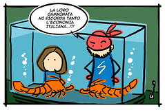 superd family 06mini (ilsuperdisoccupato) Tags: italia fumetti bruno satira socialismo larepubblica crisi disoccupazione precariato superdisoccupato