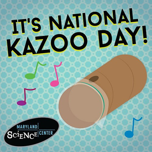 Celebrate National #Kazoo Day by creating...