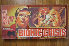 Bionic Crisis Game (Parker Bros. 1975 (Donald Deveau) Tags: bionic tvshow boardgame sixmilliondollarman parkerbrothers