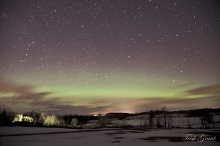 Aurora Borealis, March 17, 2015. North Argyle, NY