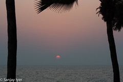 Sunset over the Arabian Sea (S Sanjay Iyer) Tags: sunset seascape flickr cannanore