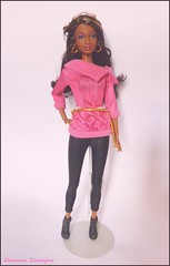 Barbie So in Style - Grace (Alex.S~) Tags: black doll dolls goddess barbie style grace sis collector fashionistas so mbili playline